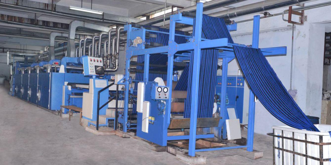Stenter Machine Hot Air Stenter Machine Lucy Engineering